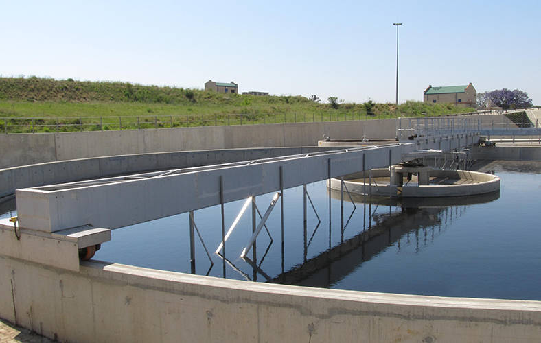 water and sewage treatment plant