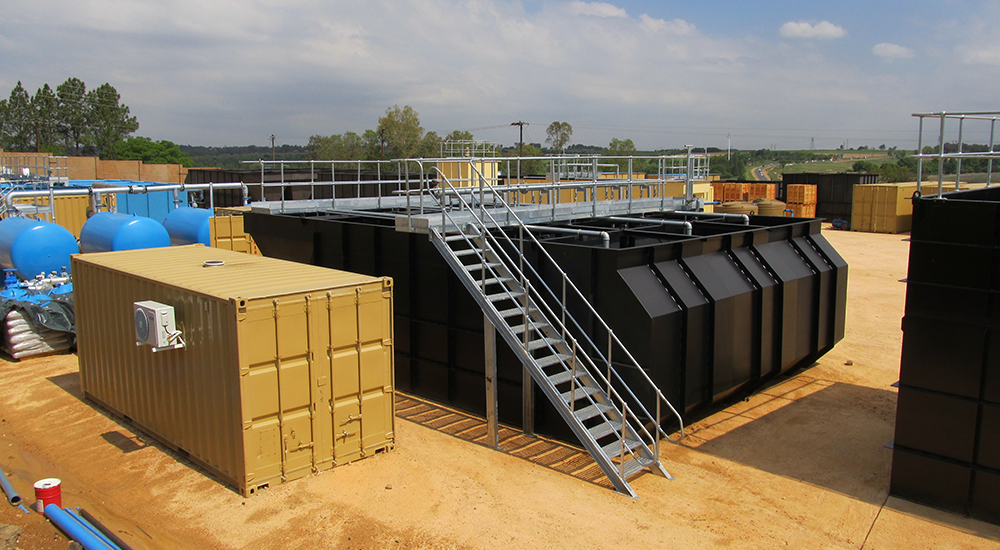 packaged water treatment plant