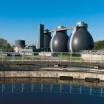Water treatment sludge digestion tanks