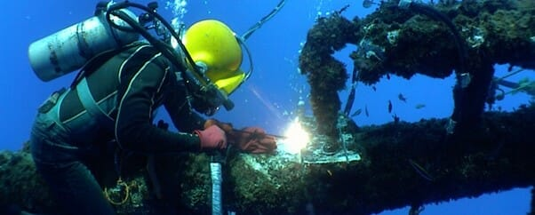 Refurbishment with the help of RS Africa Diving